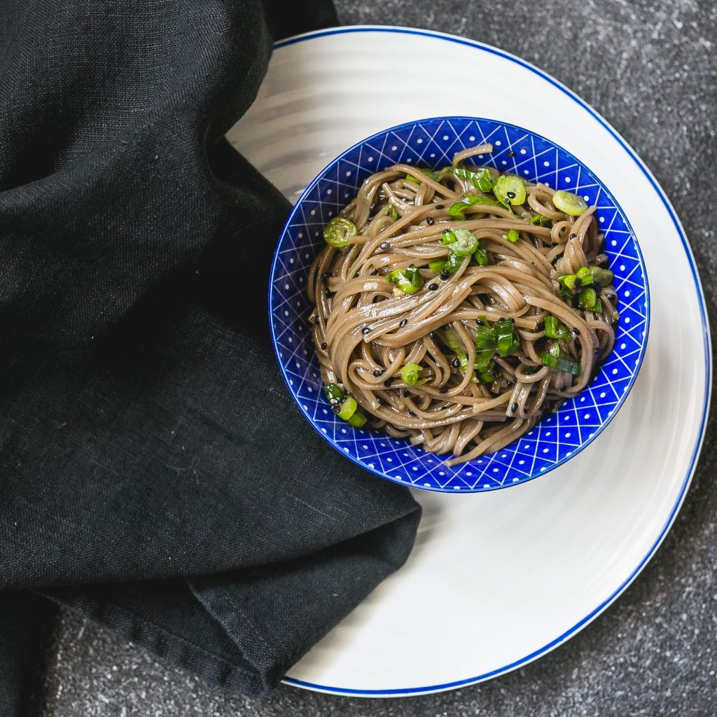 Soba Nudeln - Florence Stoiber
