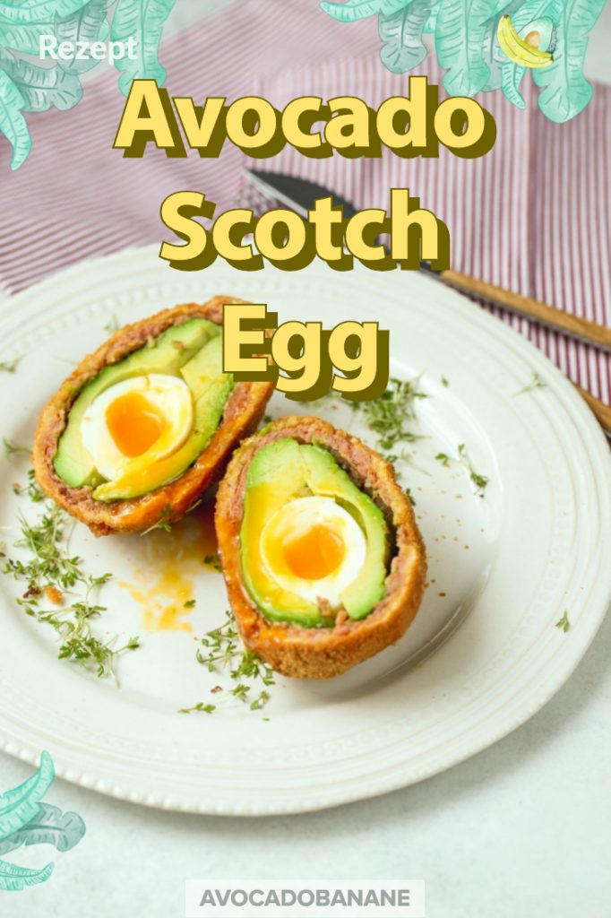 avocado scotch egg