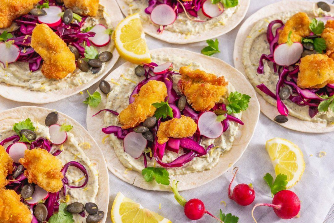 Backhendl Tacos