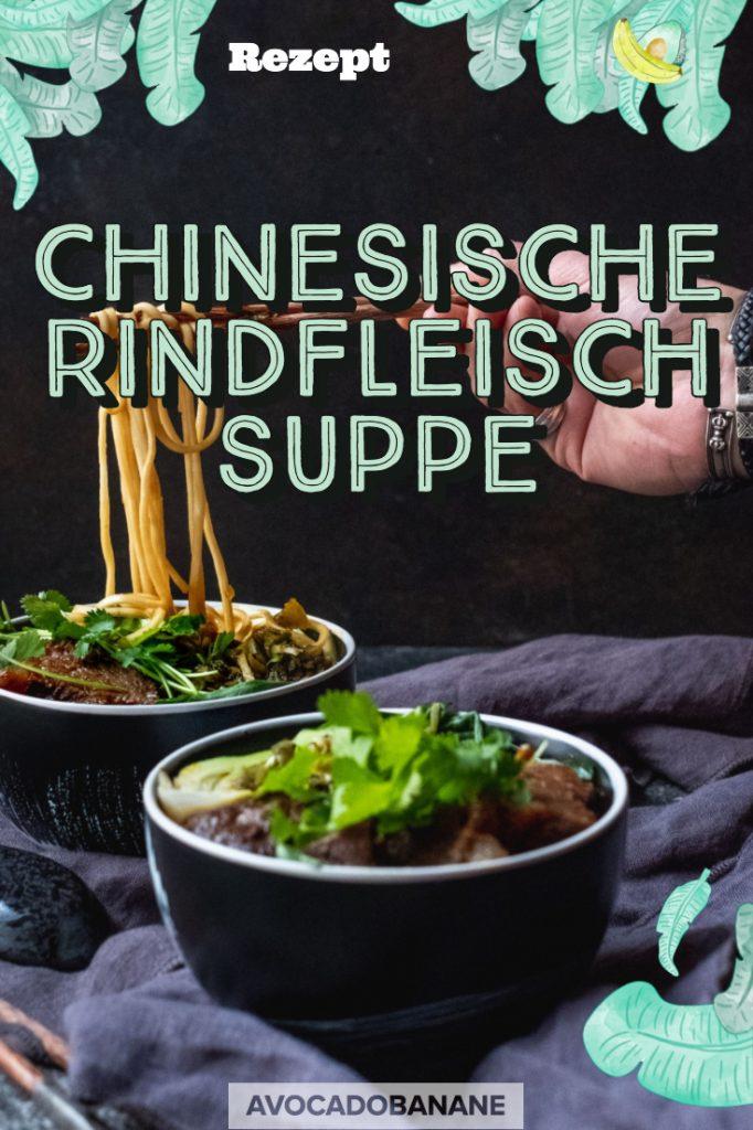 chinesische rindfleischsuppe